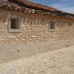 Ermita de San Bartolomé en Tosos - Obra de restauración - Solceq