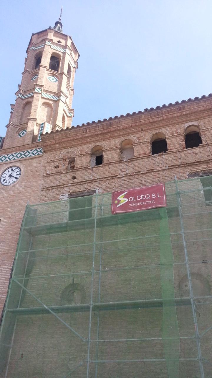 Iglesia de Osera - Obra de restauración - Solceq