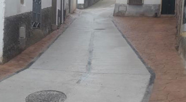 Pavimentación C/ Leotoldo Romero en Tosos