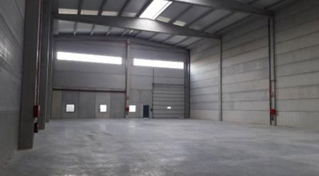 Construccion nave industrial en plaza