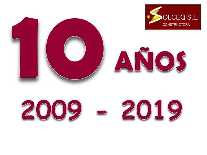 10 aniversario SOLCEQ